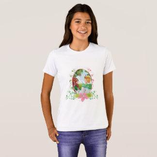 Camiseta O Bella das meninas do rei e da rainha+T-shirt do