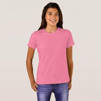 Camiseta O Bella das meninas+T-shirt do grupo das canvas