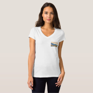 Camiseta O Bella das mulheres agradáveis do lago V -