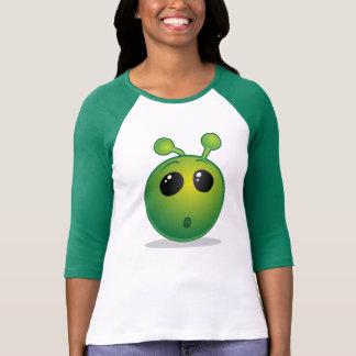 Camiseta O Bella das mulheres+Alienígena do t-shirt das