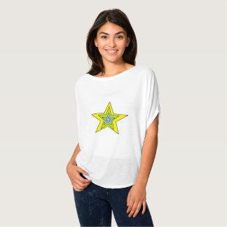 Camiseta O Bella das mulheres+Arte da parte superior do