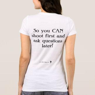 Camiseta O Bella das mulheres da ciência forense |+T-shirt