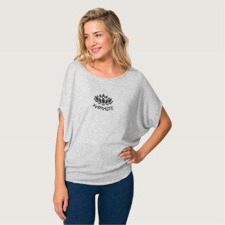 Camiseta O Bella das mulheres de Namaste Lotus da