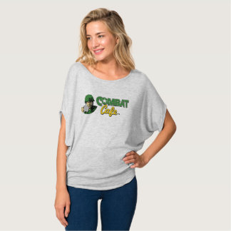 Camiseta O Bella das mulheres do café do combate+Parte