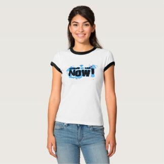 Camiseta O Bella das mulheres do córrego+T-shirt da
