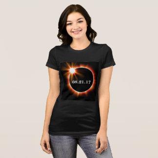 Camiseta O Bella das mulheres e o t-shirt do eclipse do