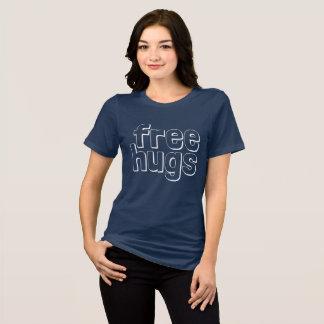 Camiseta O Bella das mulheres livres dos abraços+Jérsei
