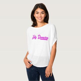 Camiseta O Bella das mulheres santamente de Ramadan+Parte