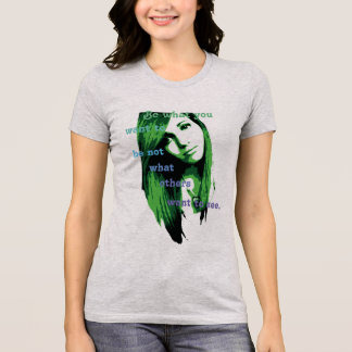 Camiseta O Bella das mulheres+T-shirt favorito do jérsei