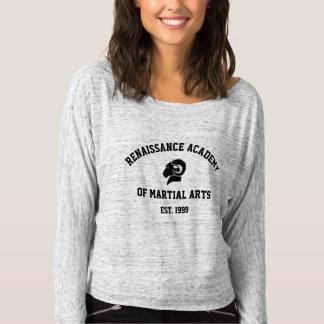 Camiseta O Bella das senhoras+Camisa cinzenta de Flowy RAM