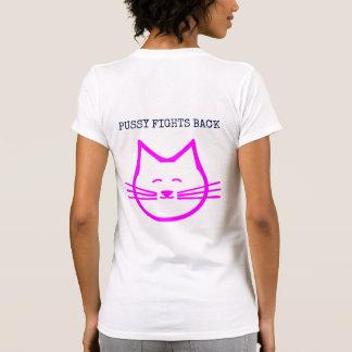 Camiseta O bichano luta para trás