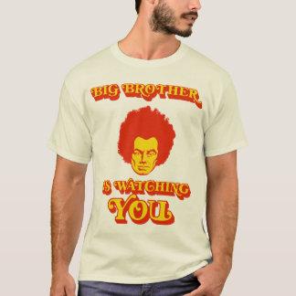 Camiseta O big brother está olhando-o (versão Funky) tee