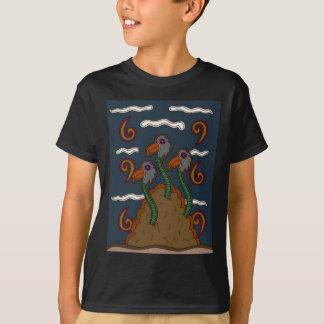 Camiseta O Birdworms
