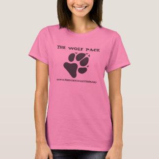 Camiseta O bloco de lobo