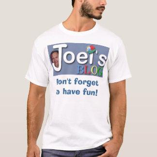 Camiseta O blogue de Joel