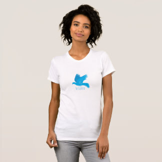 Camiseta O Bluebird da felicidade
