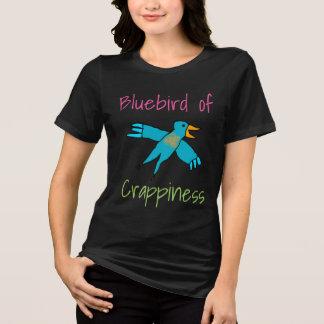 Camiseta O Bluebird de Crappiness personalizou