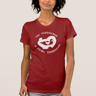 Camiseta O branco de Turducken