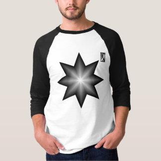 Camiseta O brilho alterno Star 3/4 de luva