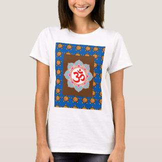 Camiseta O budismo da hinduísmo do templo da arte da mantra