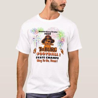 Camiseta O Burg ganha campeões do estado do futebol -