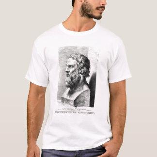 Camiseta O busto de Plato gravou por Lucas Emil