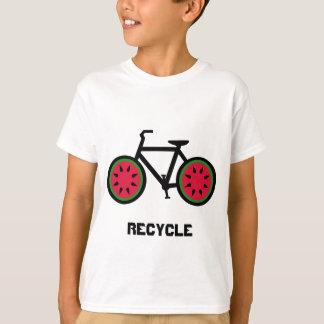 Camiseta O bycycle do reciclar caçoa o tshirt