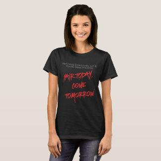 Camiseta O cabelo clássico das mulheres hoje, t-shirt