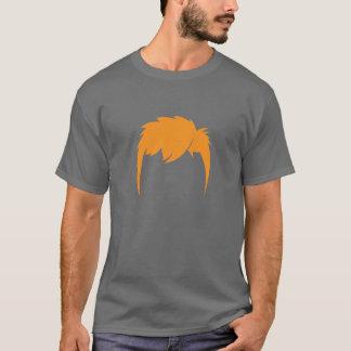 Camiseta O cabelo oficial do gengibre
