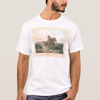 """Camiseta O caçador da pradaria: """"Um friccionado para fora!"""""""