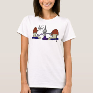 Camiseta O cachimbo de água cresce rapidamente camisola de