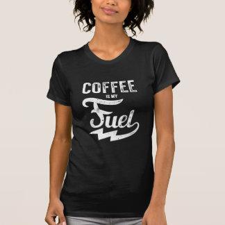 Camiseta O café é meu combustível