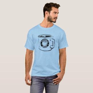Camiseta O café é t-shirt da caneca de Jesus