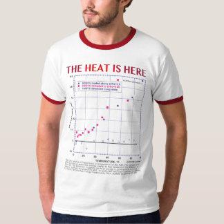 Camiseta O calor está aqui