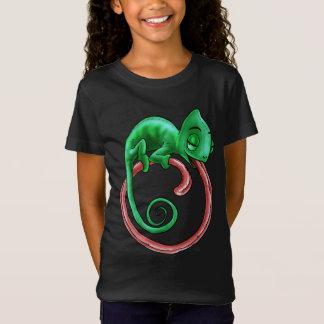 Camiseta O camaleão infinito caçoa a obscuridade do t-shirt