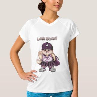 Camiseta O campeão das mulheres da MENINA do CAT do