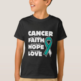 Camiseta o cancro do colo do útero não pode