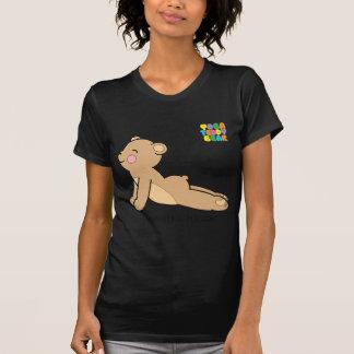 Camiseta O cão ascendente/persegue para baixo o T