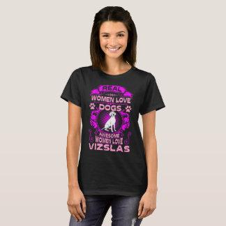 Camiseta O cão impressionante de Vizslas do amor das