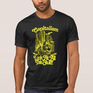 Camiseta O capitalismo é T cabido repugnante