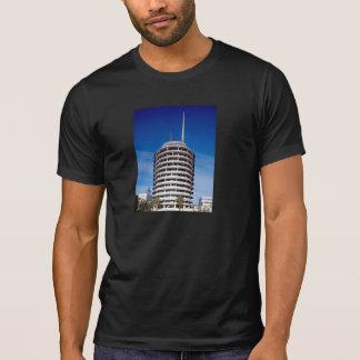 Camiseta O Capitólio grava o LA da torre