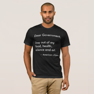 Camiseta O caro governo
