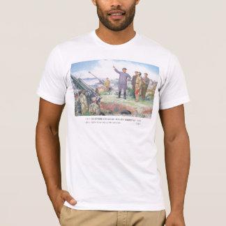 Camiseta O caro líder instrui as tropas.