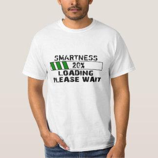 Camiseta O carregamento feito sob encomenda espera por