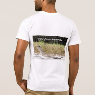 Camiseta O cascavel o mais gordo do mundo
