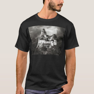 Camiseta O castelo de Dracula, farelo, a Transilvânia