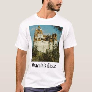 Camiseta O castelo de Dracula, o castelo de Dracula