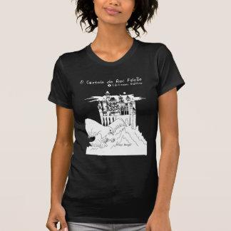 Camiseta O Castelo faz o feminina de Rei Falcão - de