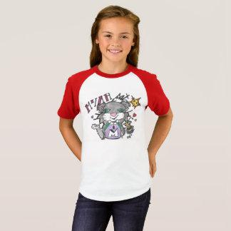 Camiseta O CAT & FRIENDZ de MYAH Short o T do basebol da