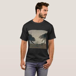 Camiseta O Catfight de Goya (espanhol original: Riña de